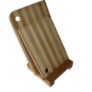 bamboo chopping board holder